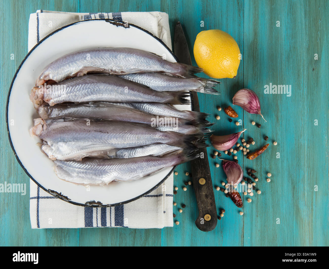 How to cook blue whiting