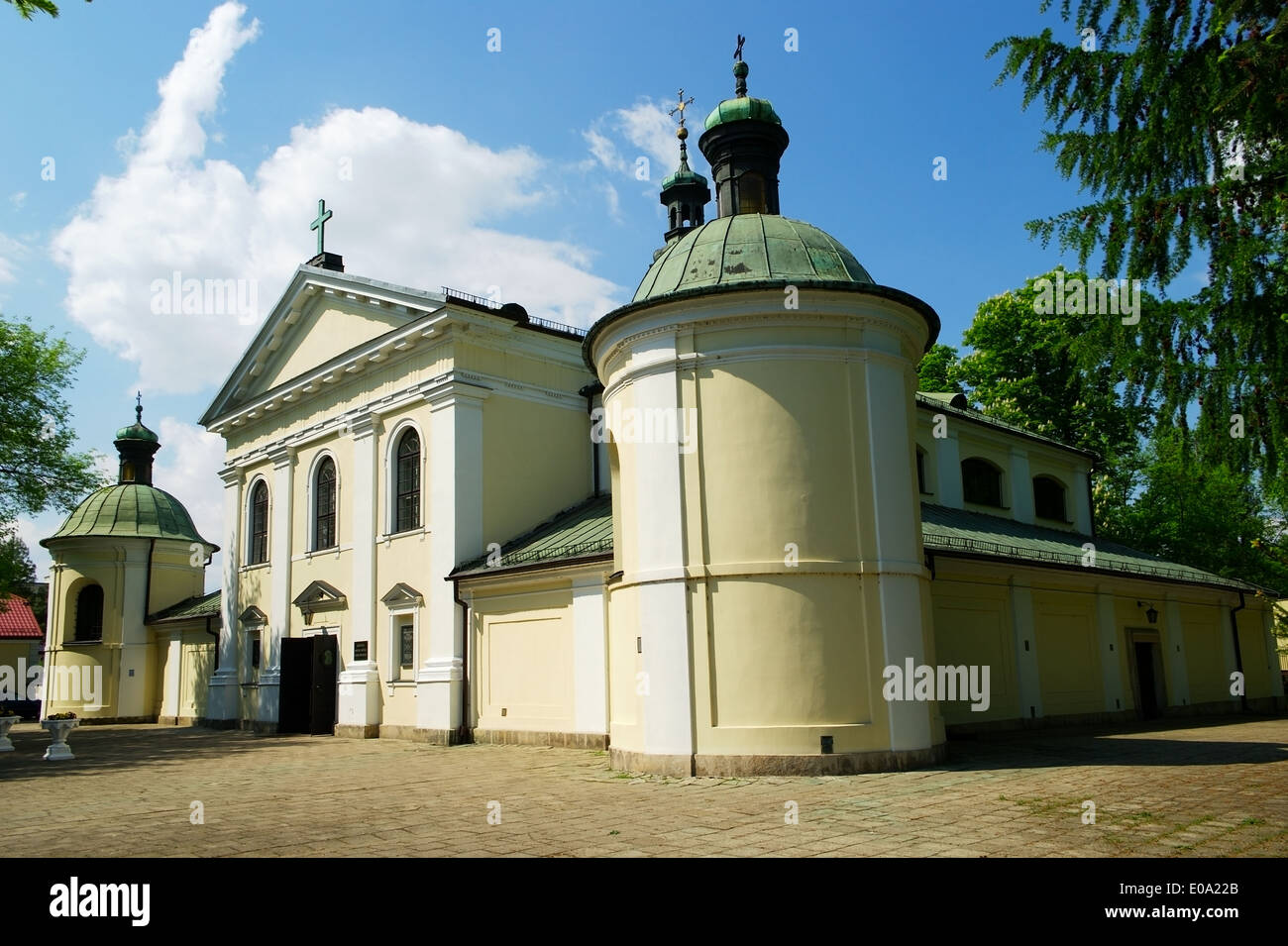 Church of Our Lady of Loreto in Warsaw, Poland Stock Photo
