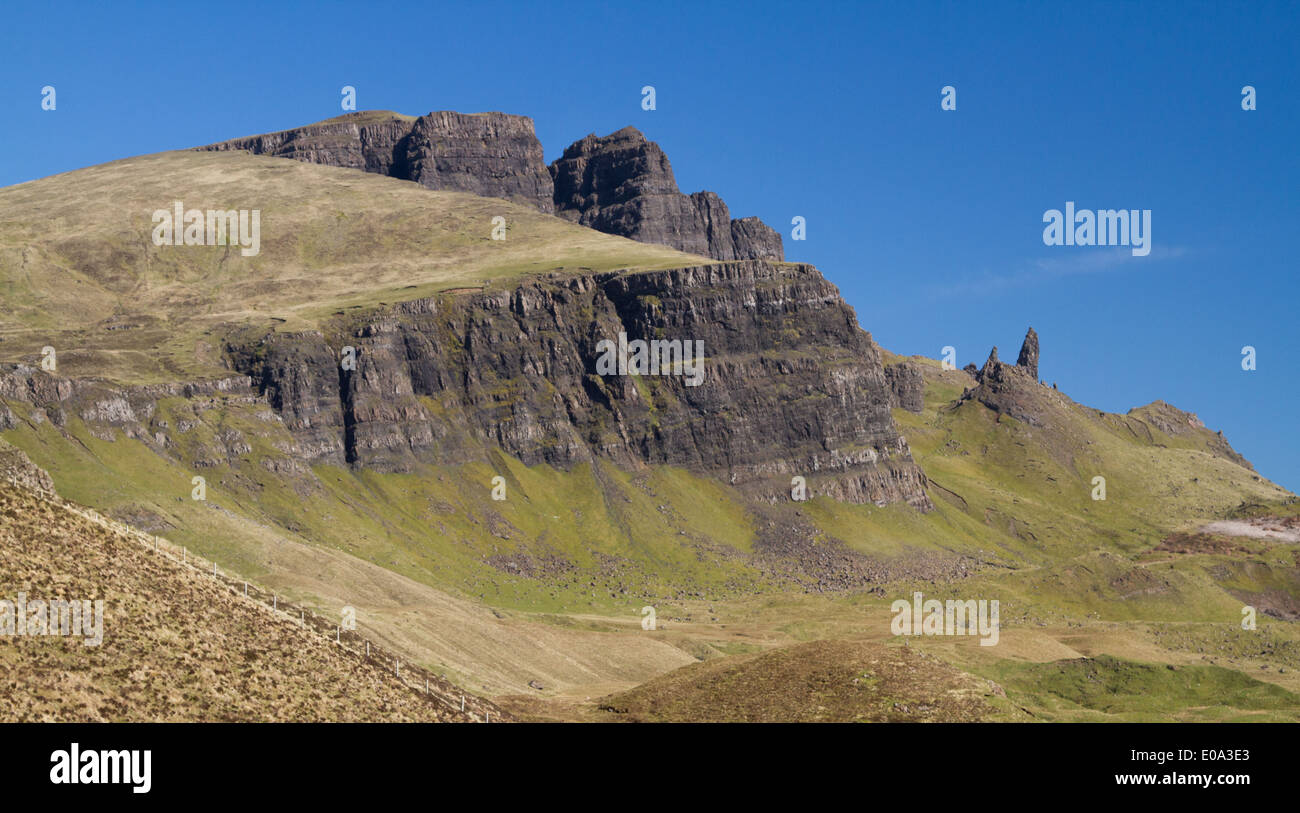 Storr, Trotternish, Isle of Skye, Scotland - Stock Image