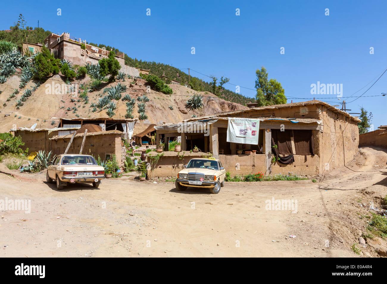 Ourika Valley, Setti-Fatma village near Marrakesh, Morocco, North Africa Stock Photo