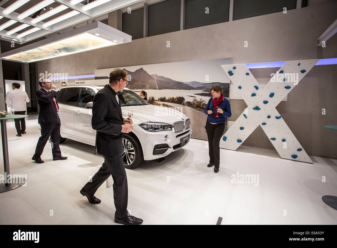 BMW x5 m50d - Stock Image