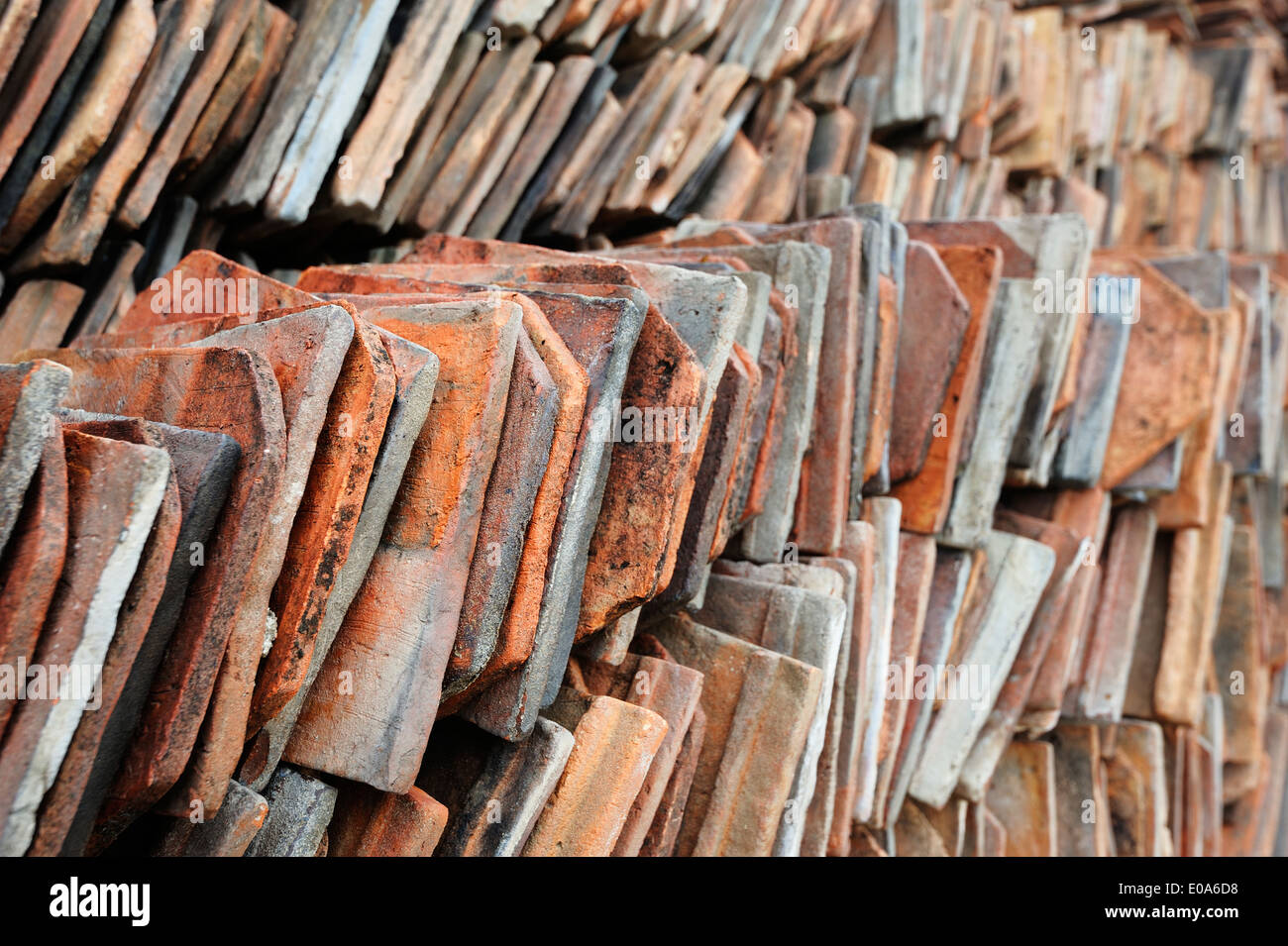 Clay Roof Tiles Stock Photos Amp Clay Roof Tiles Stock