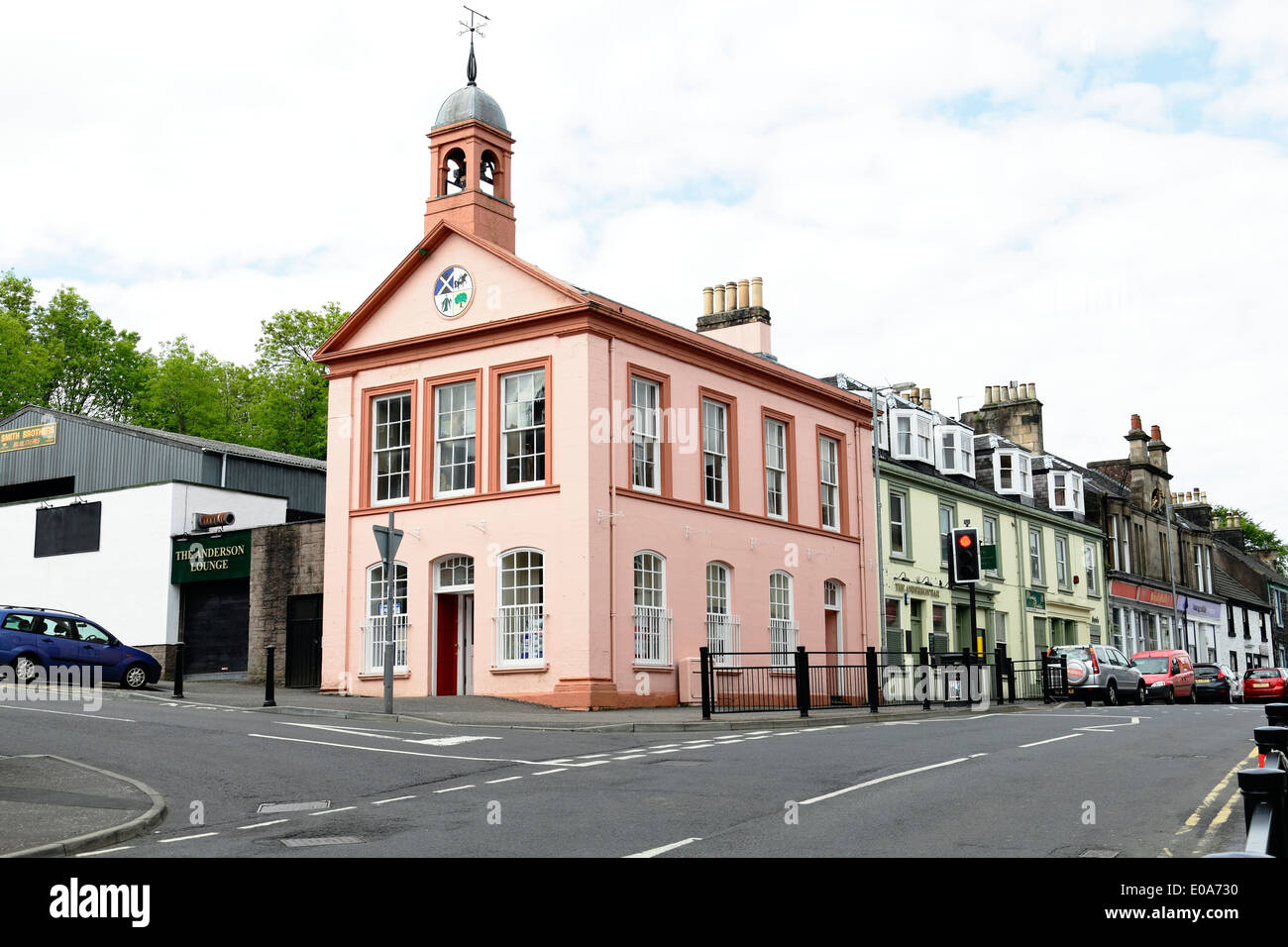 The Townhouse in Beith, North Ayrshire, Scotland, UK - Stock Image