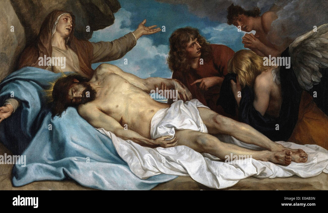 Anthony van Dyck The Lamentation of Christ - Stock Image