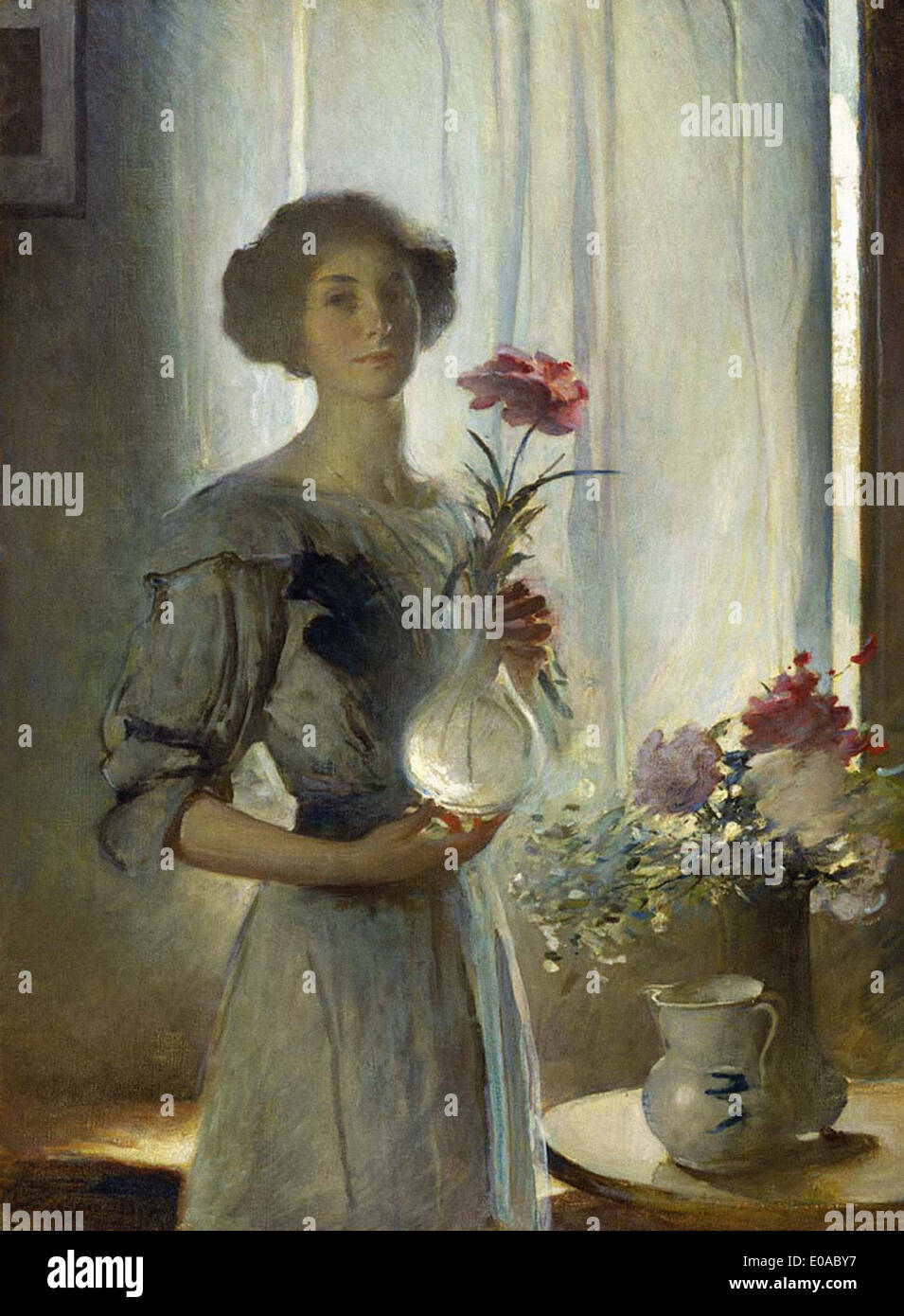 John White Alexander June - Stock Image