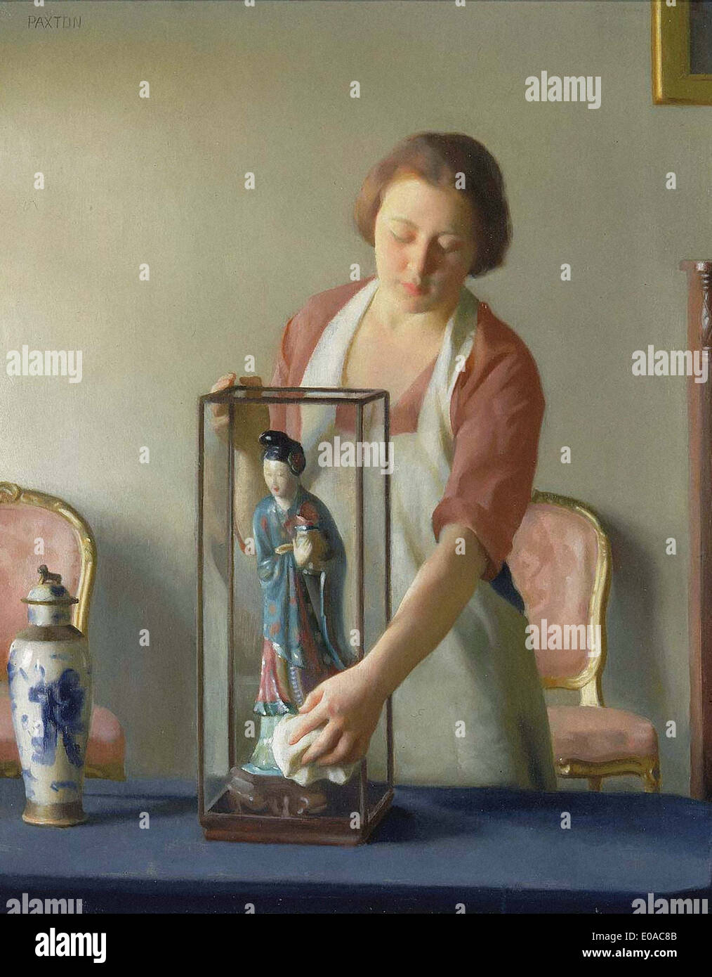 William Paxton The Figurine - Stock Image