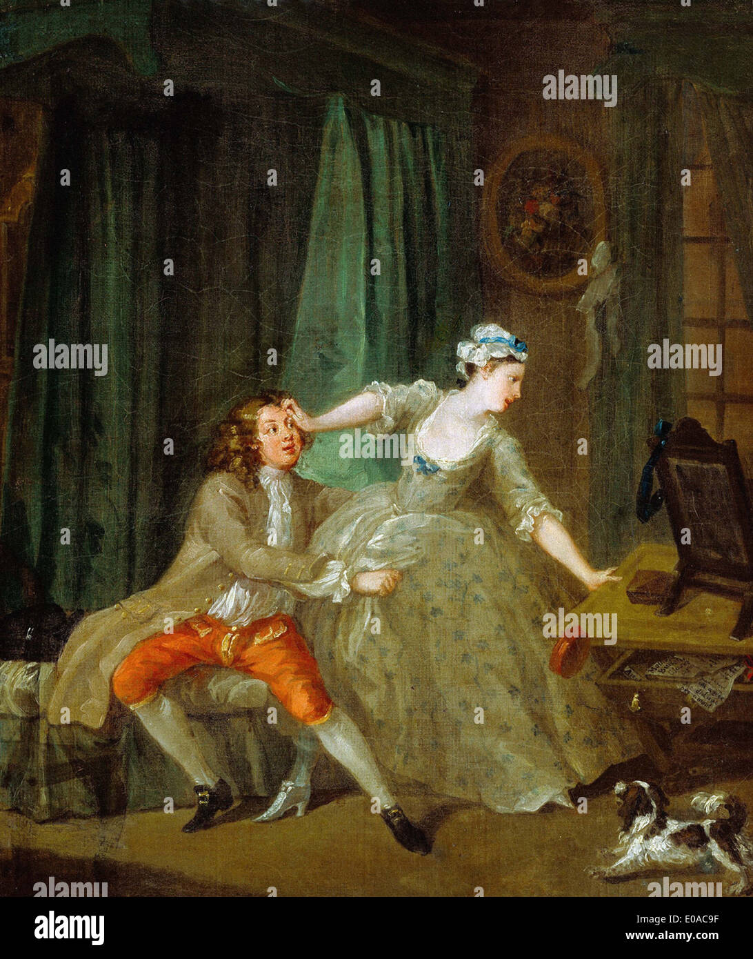 William Hogarth Before - Stock Image