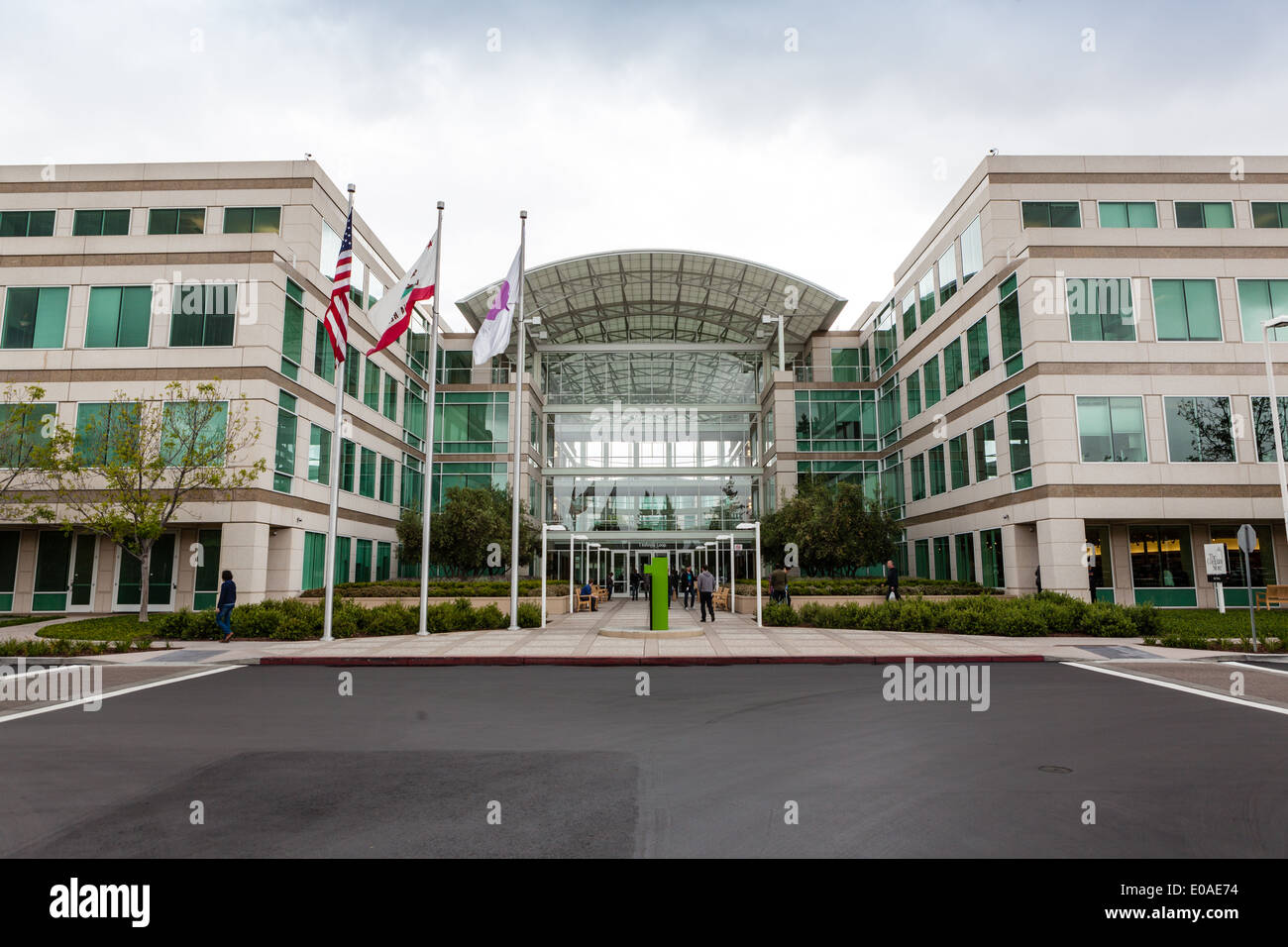 apple cupertino office. Cupertino Apple Office. Headquarters, Cupertino, California - Stock Image Office E