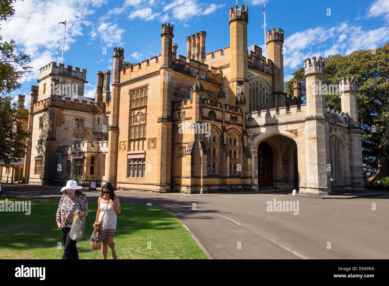 Government House In Sydney Stock Photos & Government House In Sydney ...