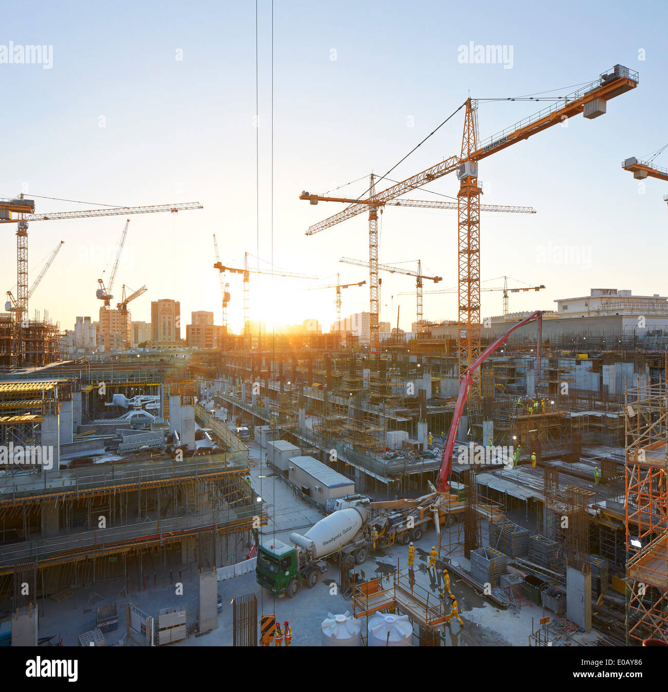 Msheireb Downtown Doha, Construction Site, Doha, Qatar