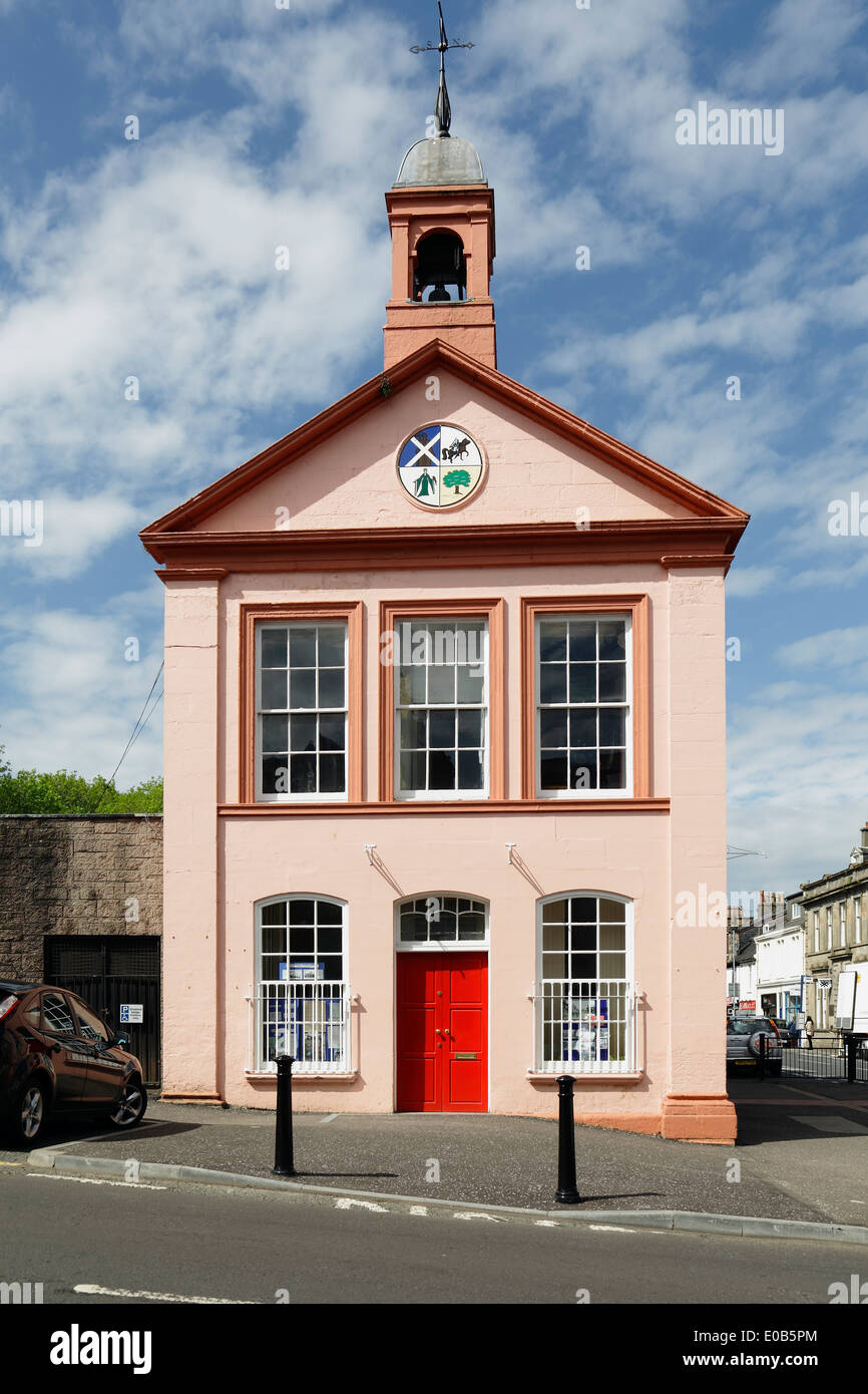 The Townhouse in Beith North Ayrshire, Scotland, UK - Stock Image