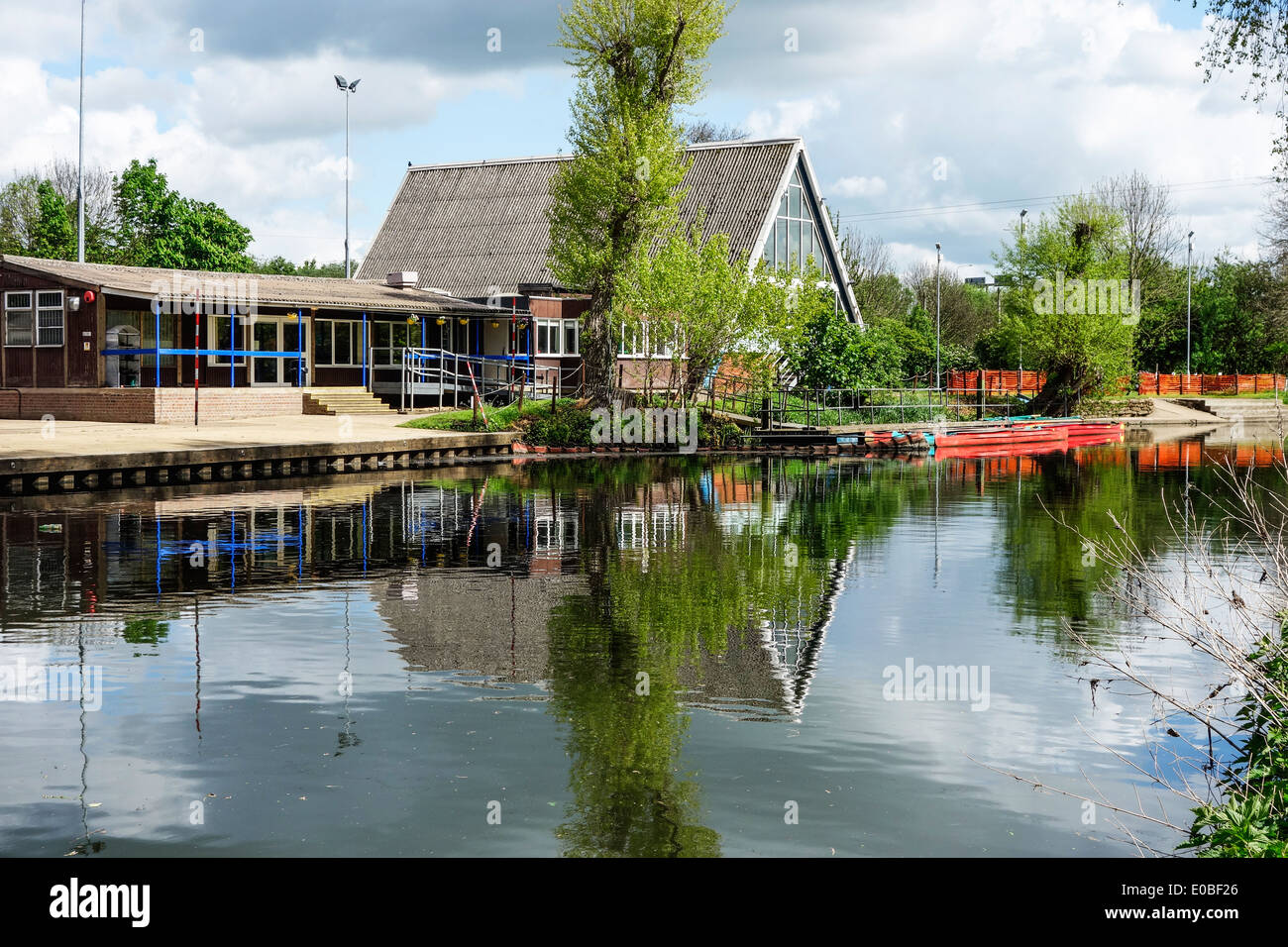 The Leicester Outdoor Pursuits Centre. - Stock Image