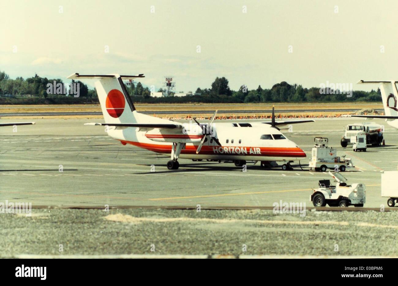 deHavilland Canada, DHC-8, Dash-8 Stock Photo
