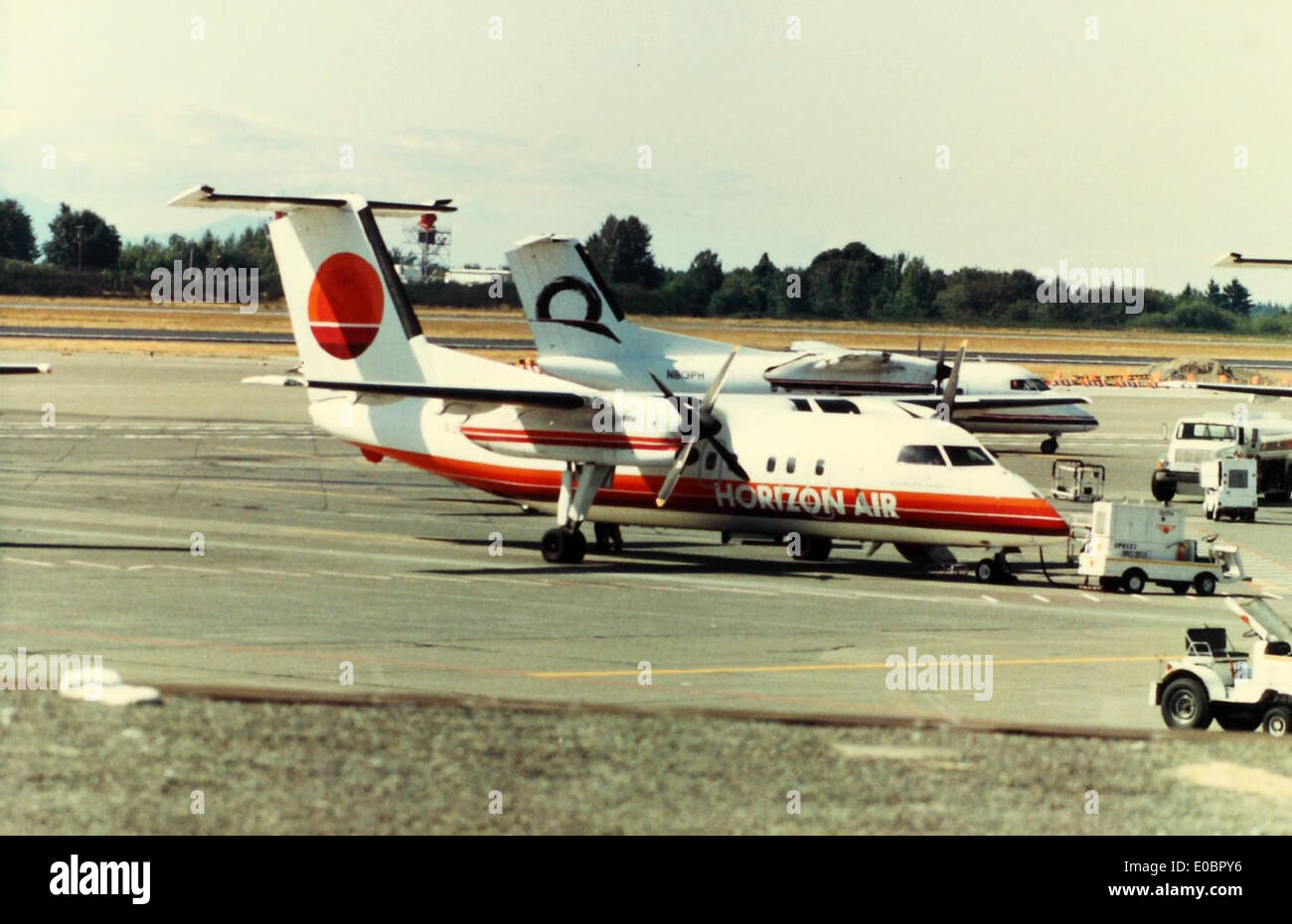 deHavilland Canada, DHC-8, Dash-8 - Stock Image