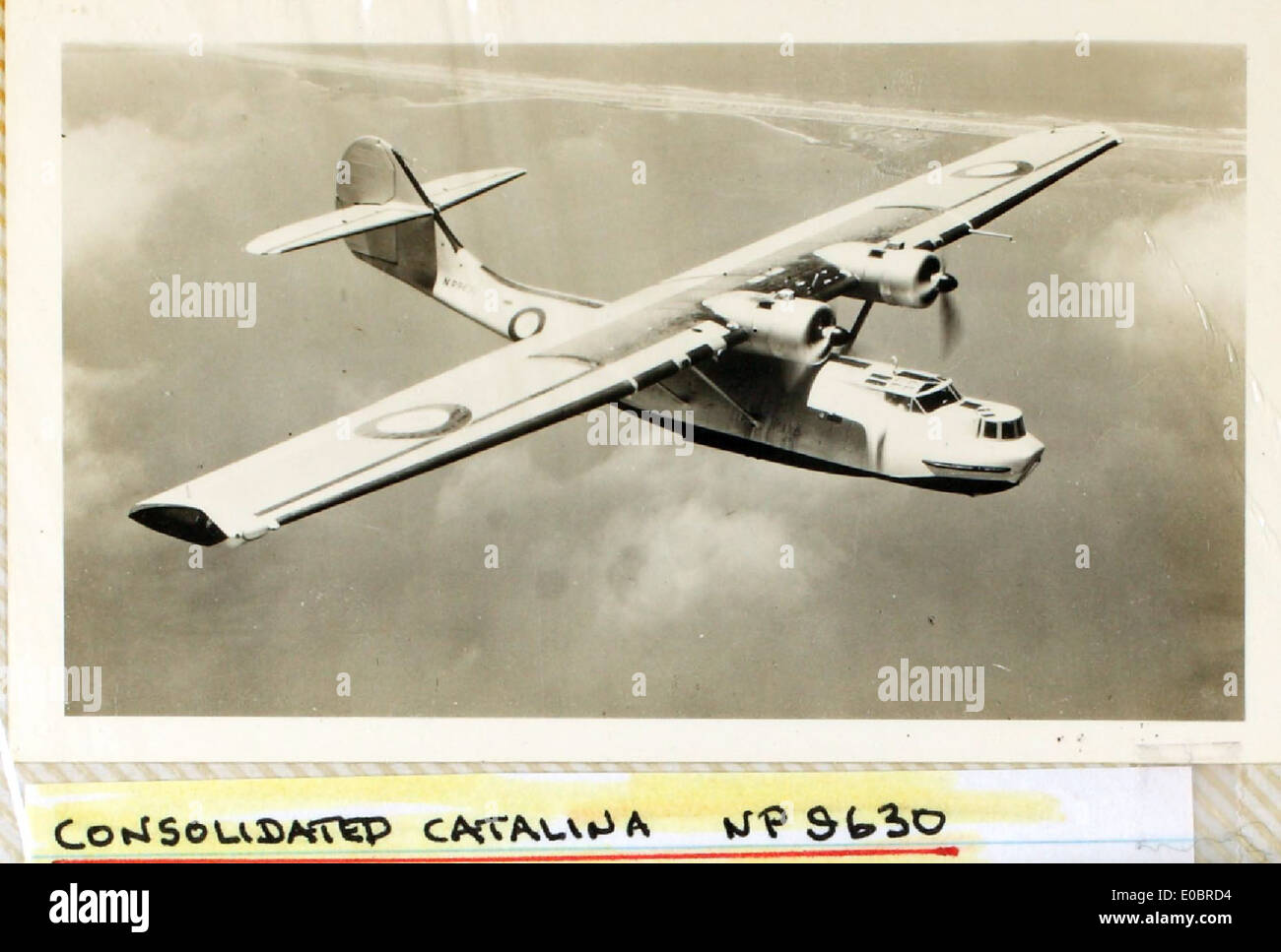 Consolidated, Catalina - Stock Image