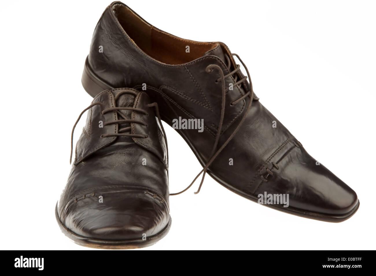 Man's shoes man's shoes men man clothes commercial clothes shoes business clothes business Businesspeople business look commerci - Stock Image