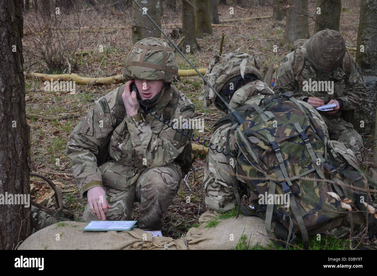 The BOWMAN family of tactical radios provides the British