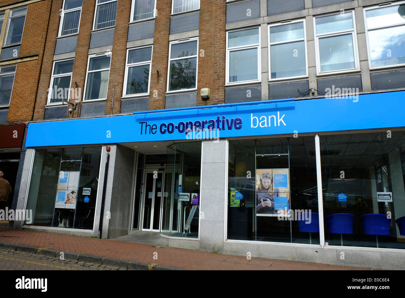 The co-operative bank in Aylesbury, England - Stock Image