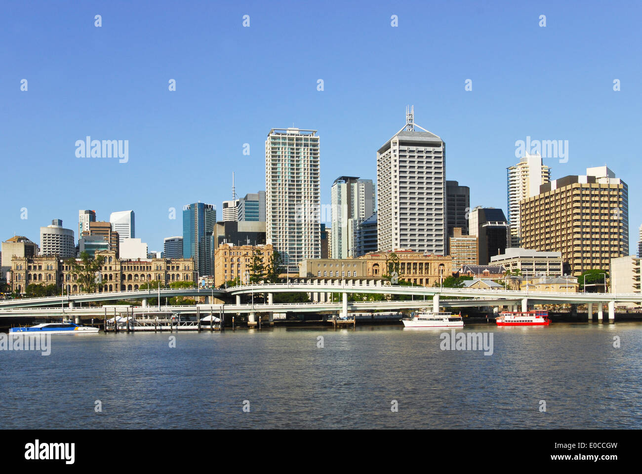 Brisbane central business district, Australia - Stock Image