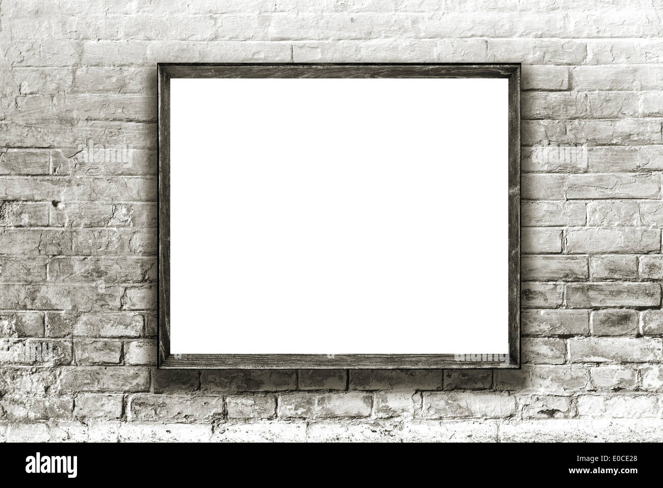 picture frame art gallery hang wall stock photos picture frame art