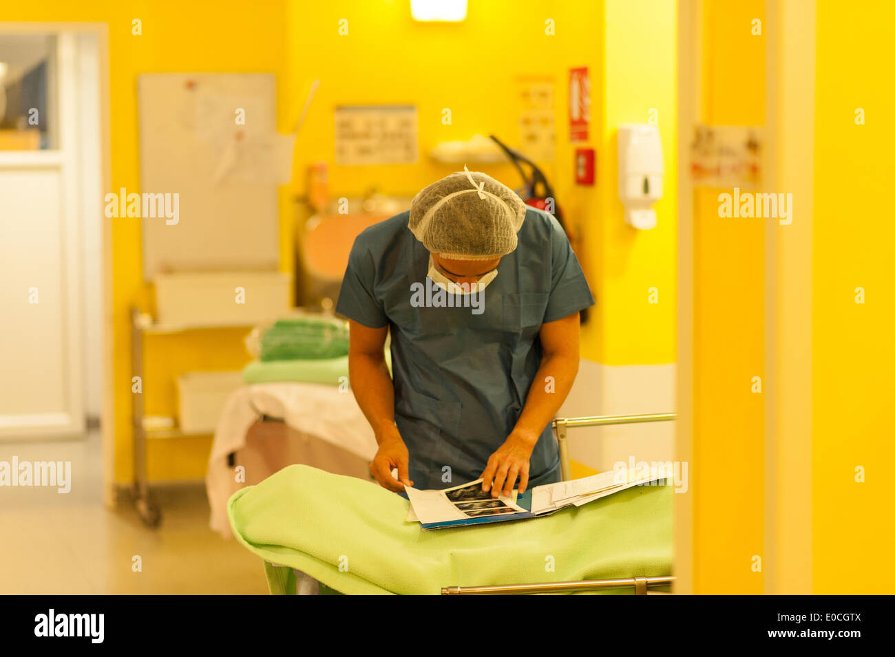 Obstetrician gynecologist - Stock Image