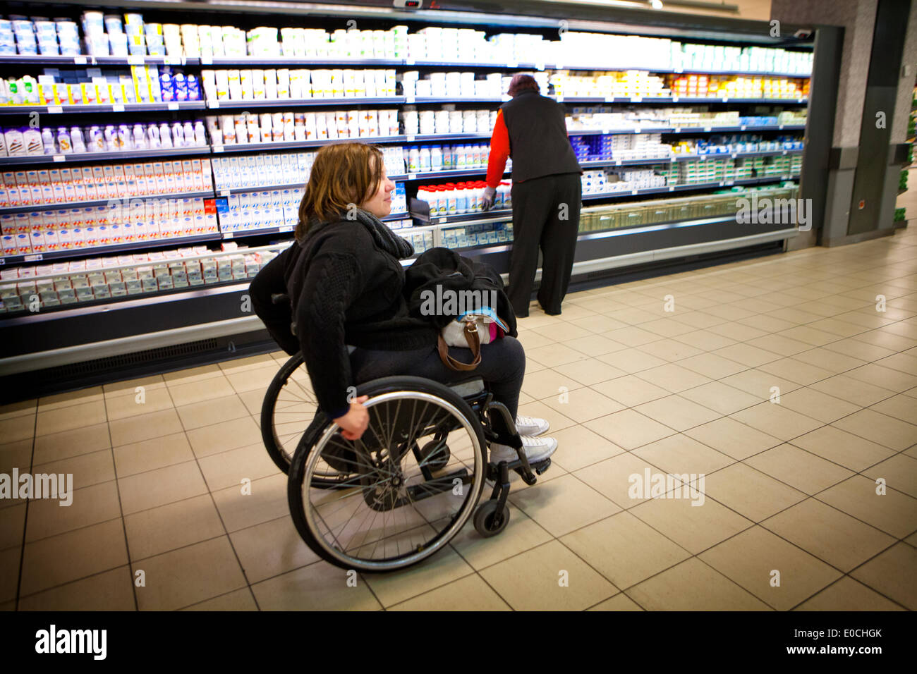Disabled accessibility - Stock Image