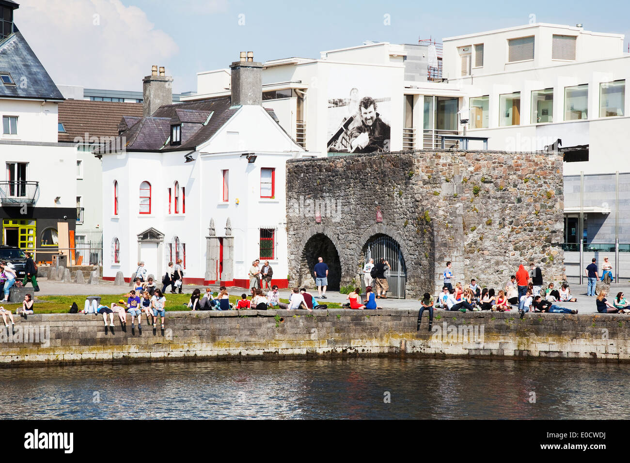 Spanish Arch; Galway City, County Galway, Ireland - Stock Image