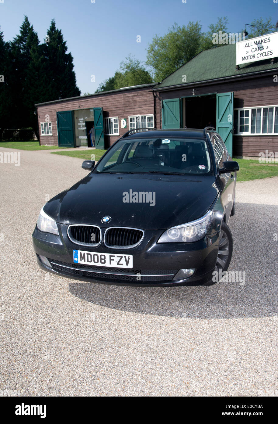 BMW 5 series Touring estate car, E61 face lift 2008 model pictured ...