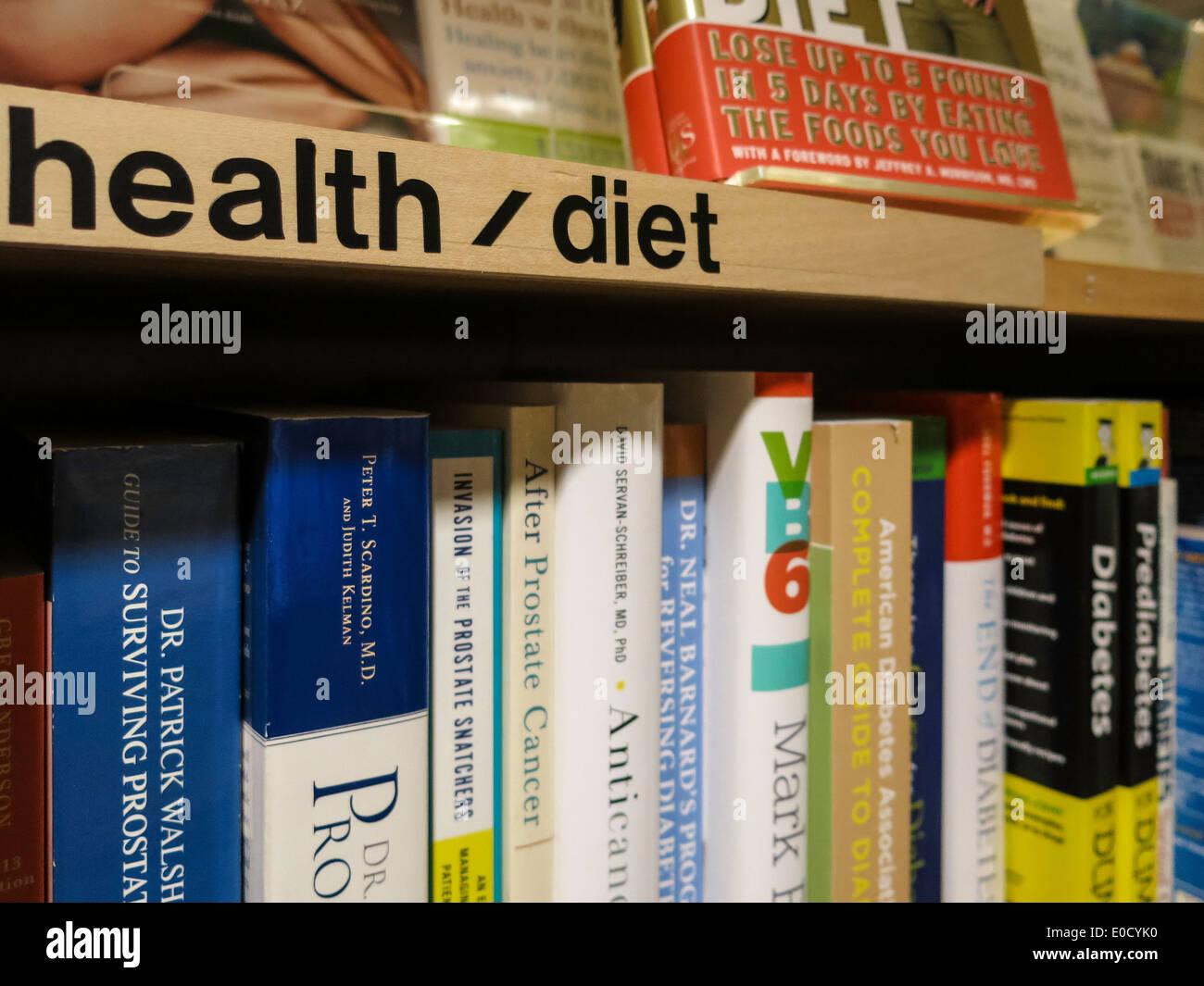Diet Books Store Stock Photos & Diet Books Store Stock