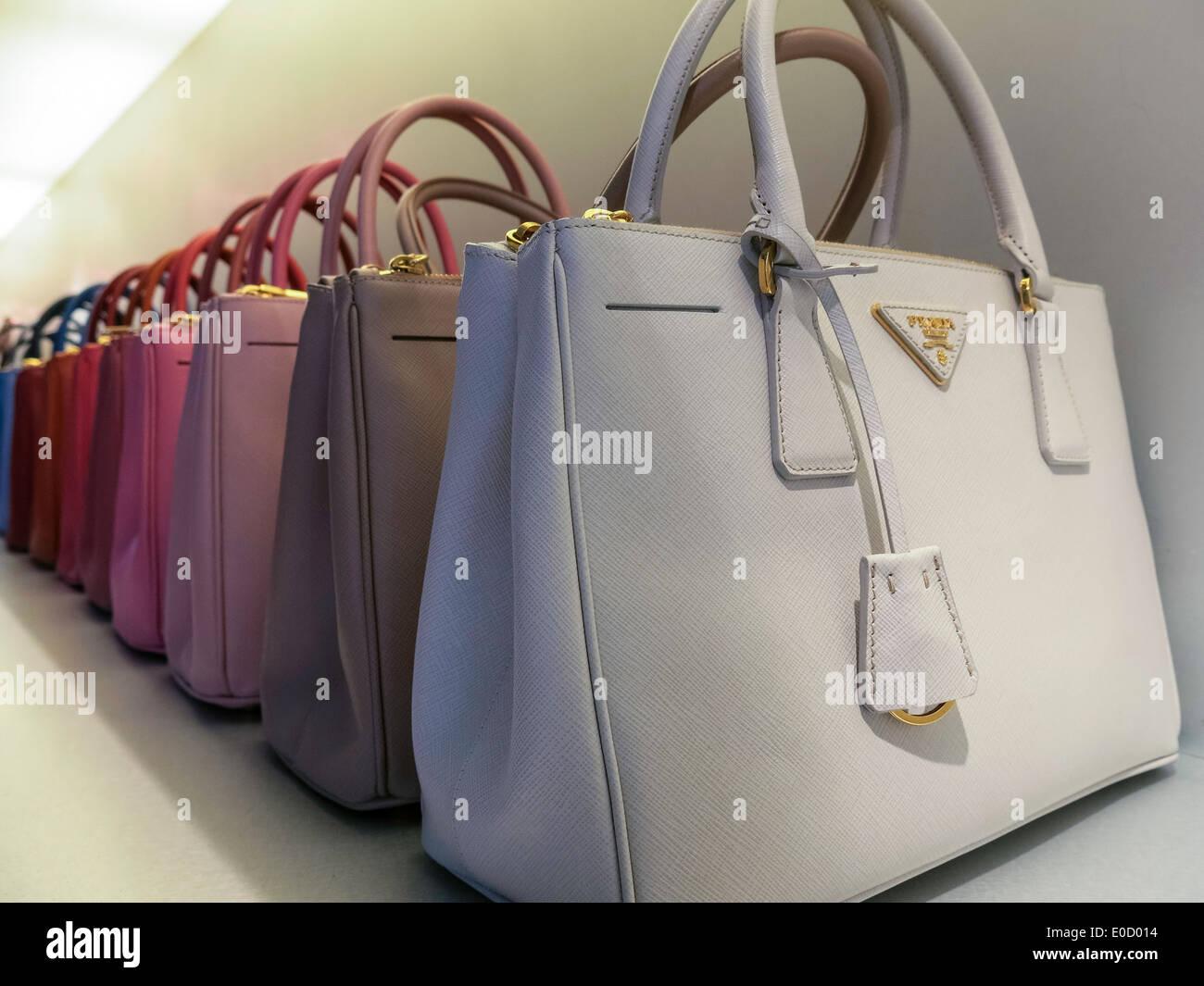 c754edf6bdeb Prada Handbag Stock Photos & Prada Handbag Stock Images - Alamy