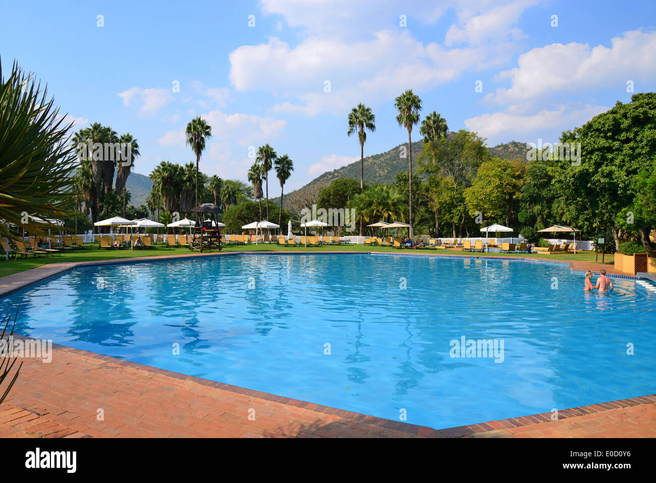 Swimming Pool At The Cabanas Hotel, Sun City Holiday Resort, Pilanesberg,  North West Province, Republic Of South Africa