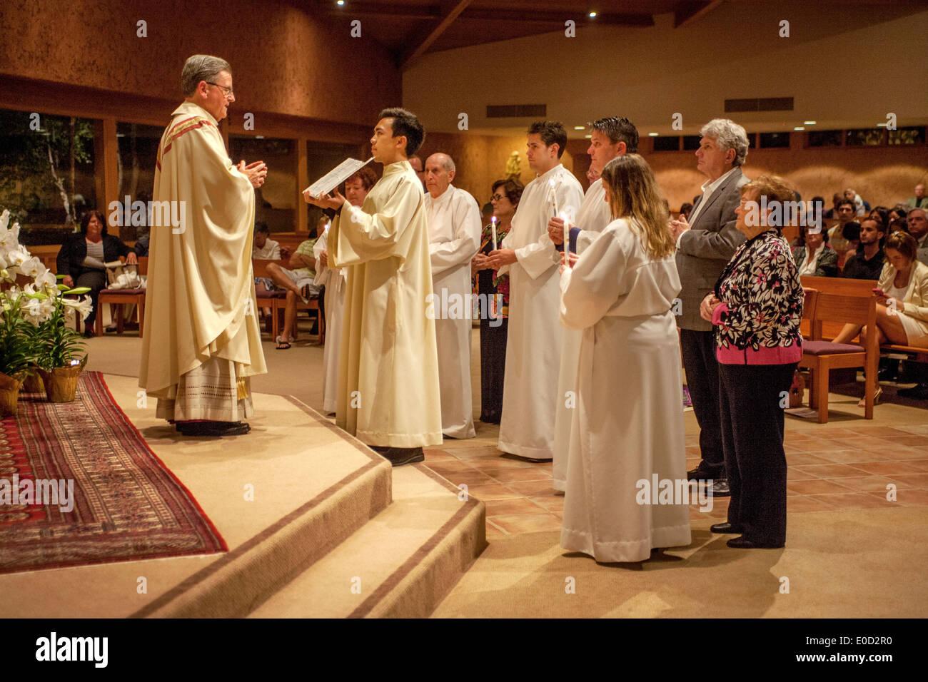The pastor of St  Timothy's Catholic Church, Laguna Niguel, CA