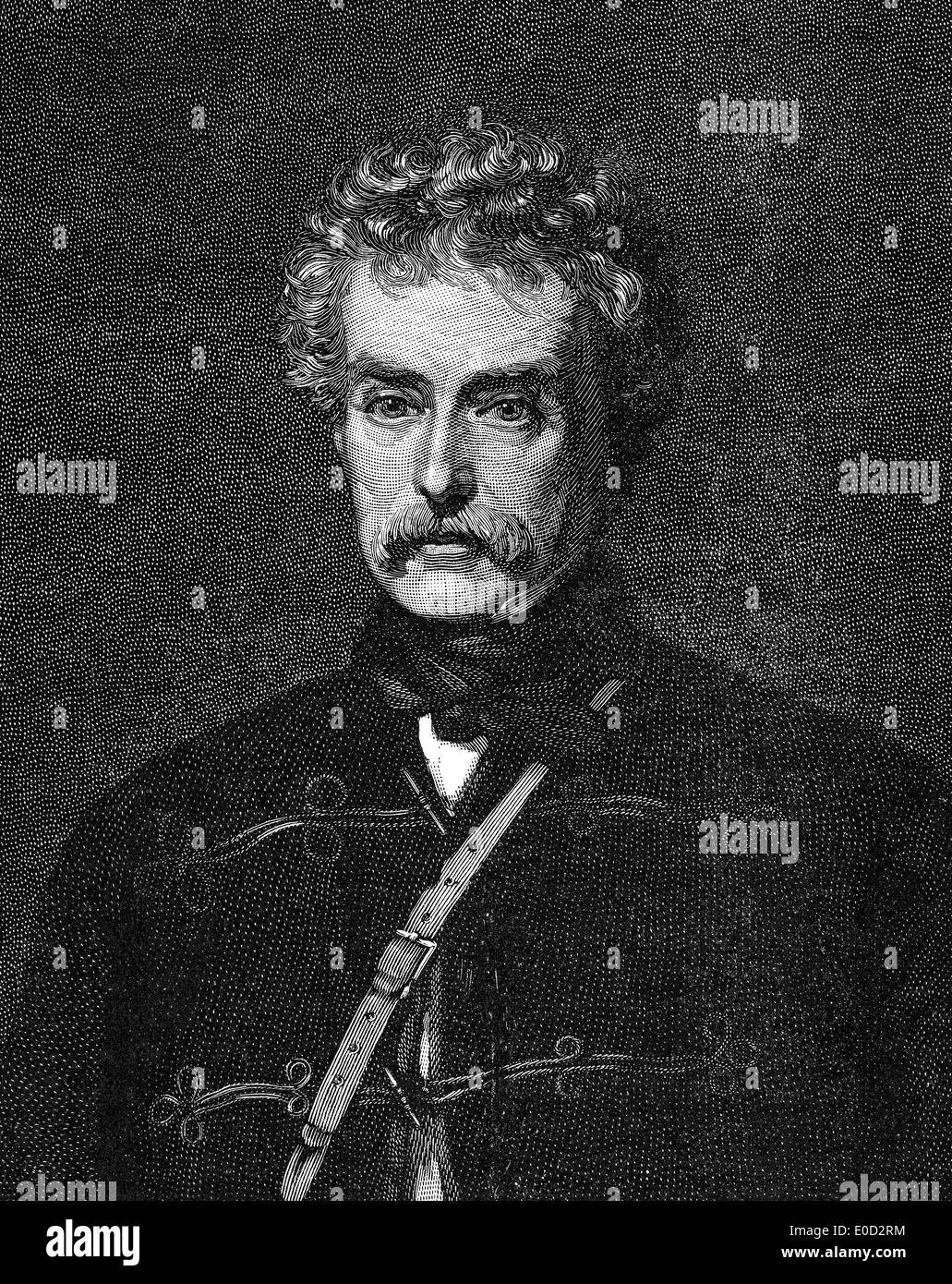 Field Marshal Colin Campbell, 1st Baron Clyde, 1792 - 1863, a British Army officer - Stock Image