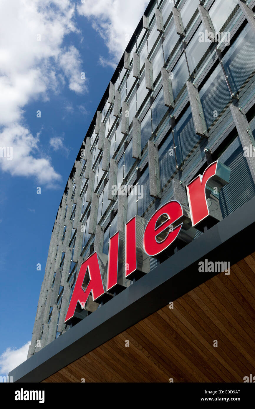 Aller Press media house – corporate building in Copenhagen, Denmark - Stock Image