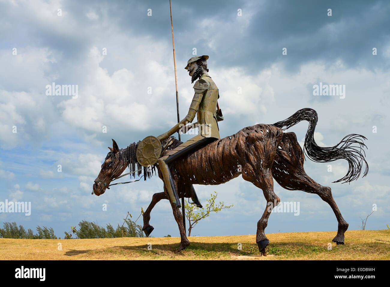 Don Quixote Sculpture Stock Photos & Don Quixote Sculpture Stock ...