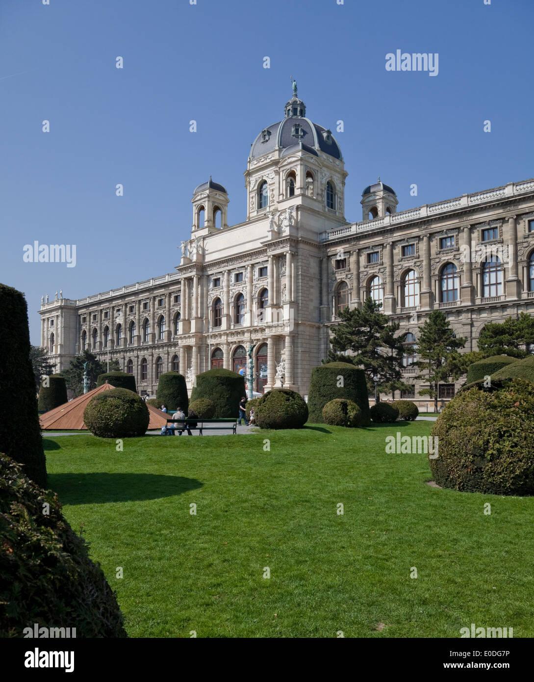 Naturhistorisches Museum, Wien, Österreich - Natural History Museum, Vienna, Austria - Stock Image
