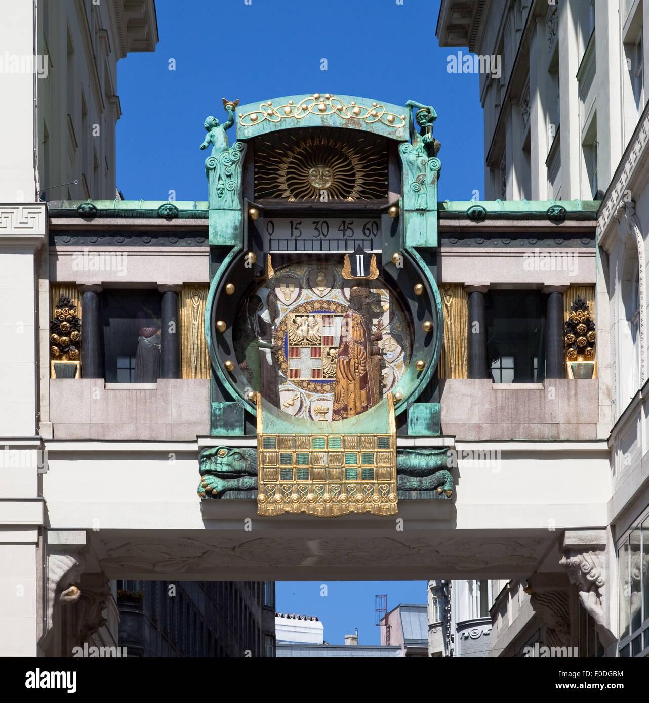 Anker Watch, Vienna, Austria - Stock Image