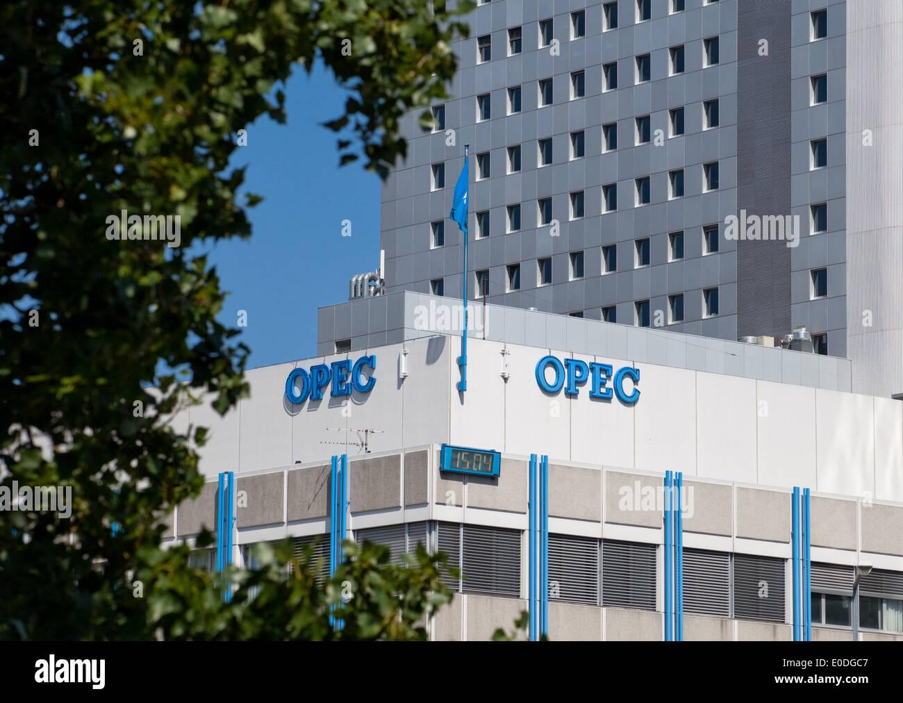 OPEC Zentrale, Wien, Österreich - OPEC headquarters, Vienna, Austria - Stock Image
