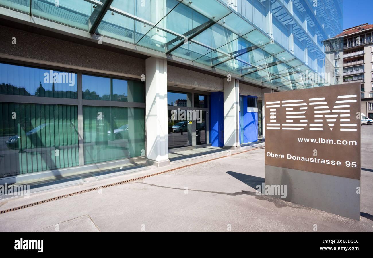 IBM Firmengebäude, Wien, Österreich - IBM Building, Vienna, Austria - Stock Image