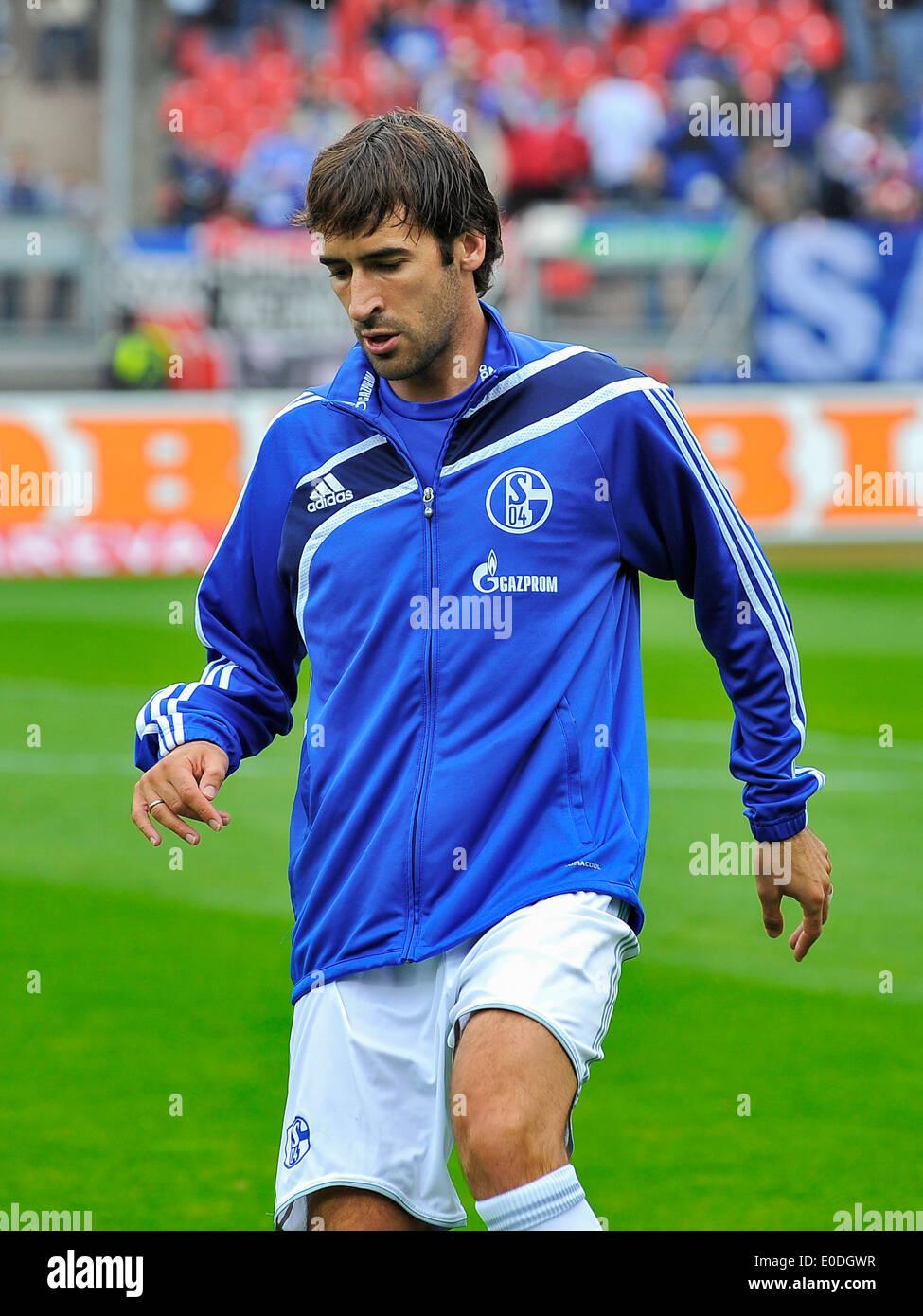 RAUL (FC Schalke 04),Fussball,DFB,Bundesliga,for editorial use,   Fussball DFB ,Bundesliga - Stock Image