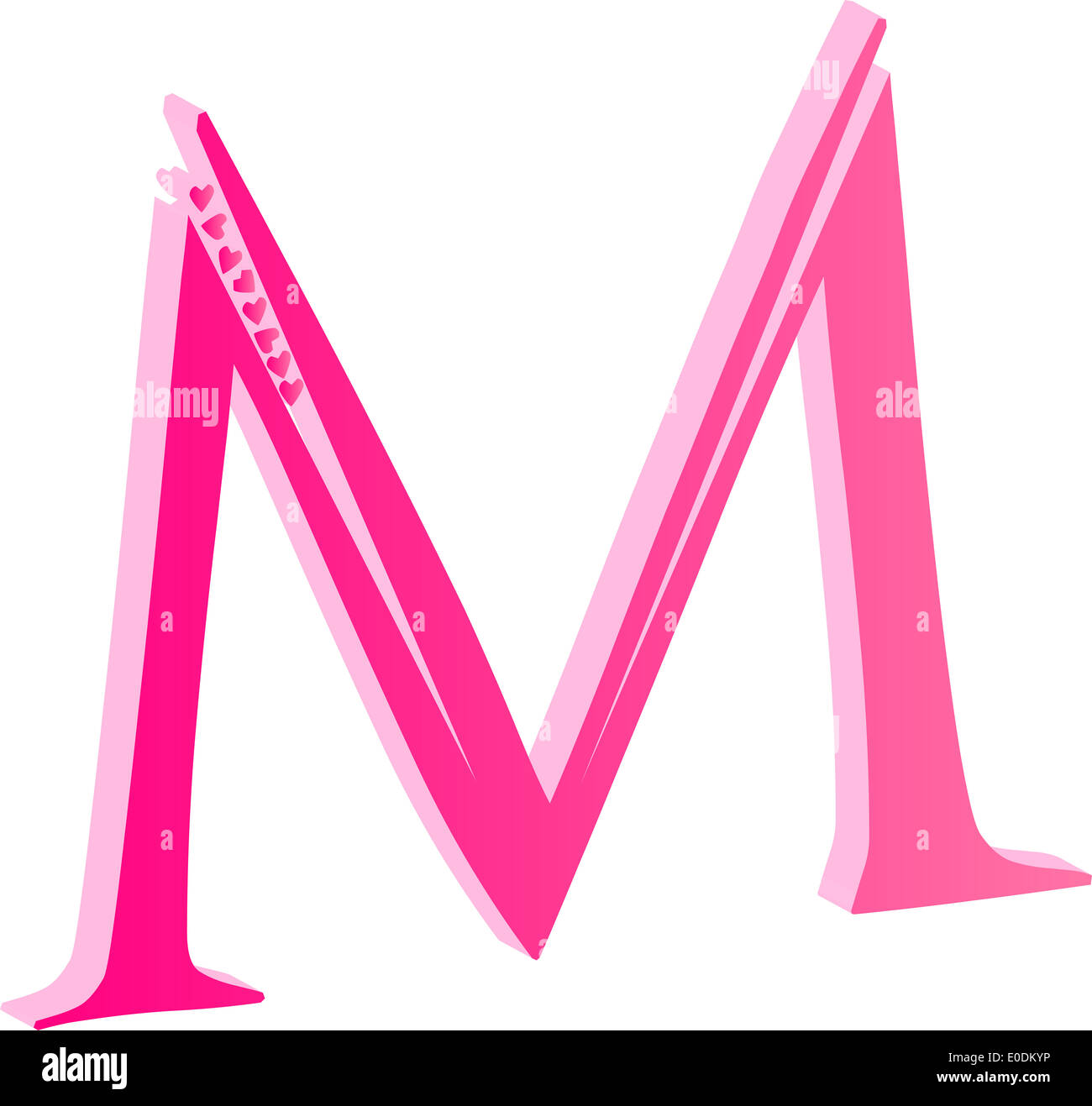 3d alphabet letter m love concept vector stock photo 69142522 alamy 3d alphabet letter m love concept vector thecheapjerseys Gallery