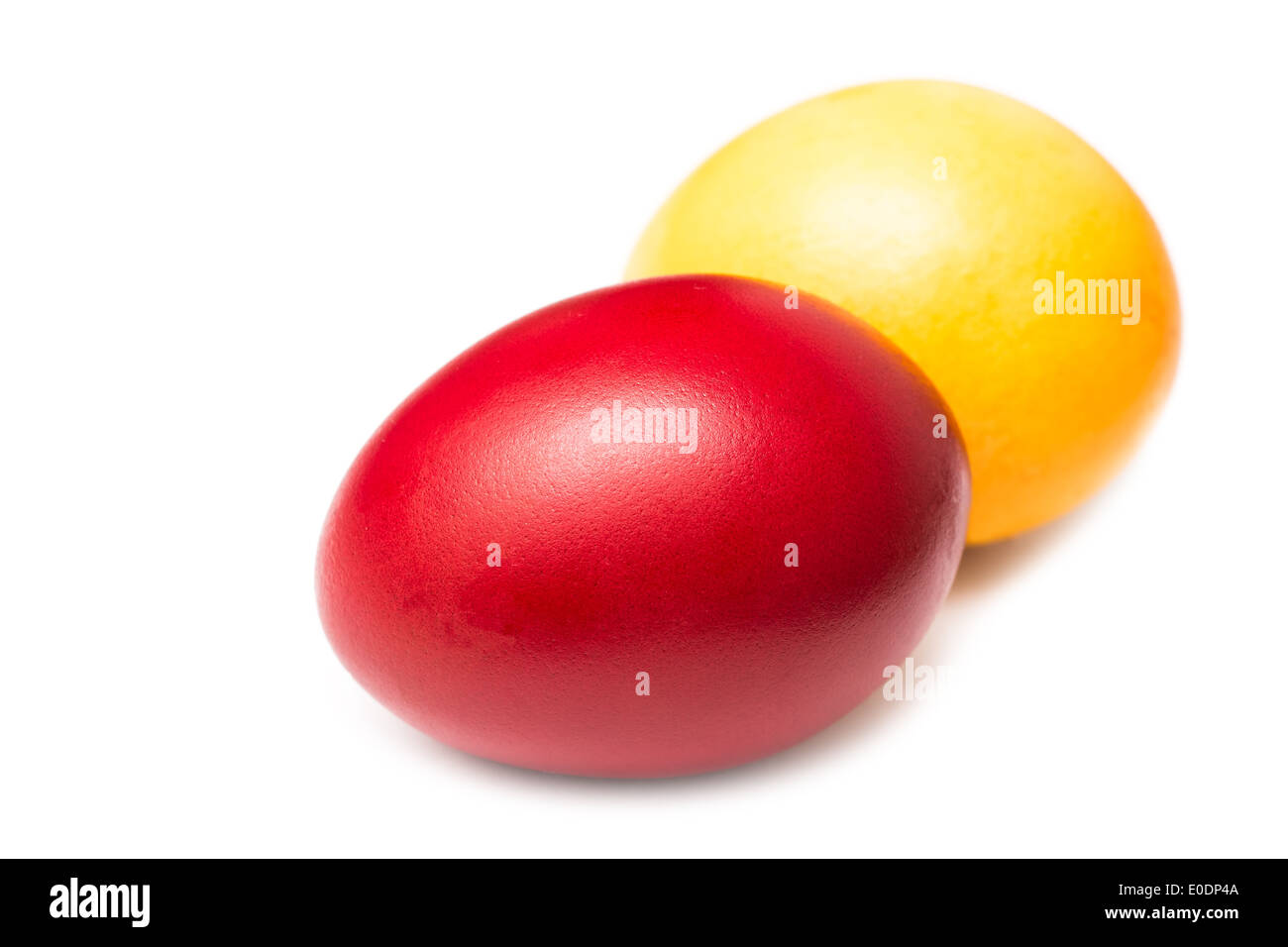 Red And Yellow Easter Eggs Stock s & Red And Yellow Easter Eggs