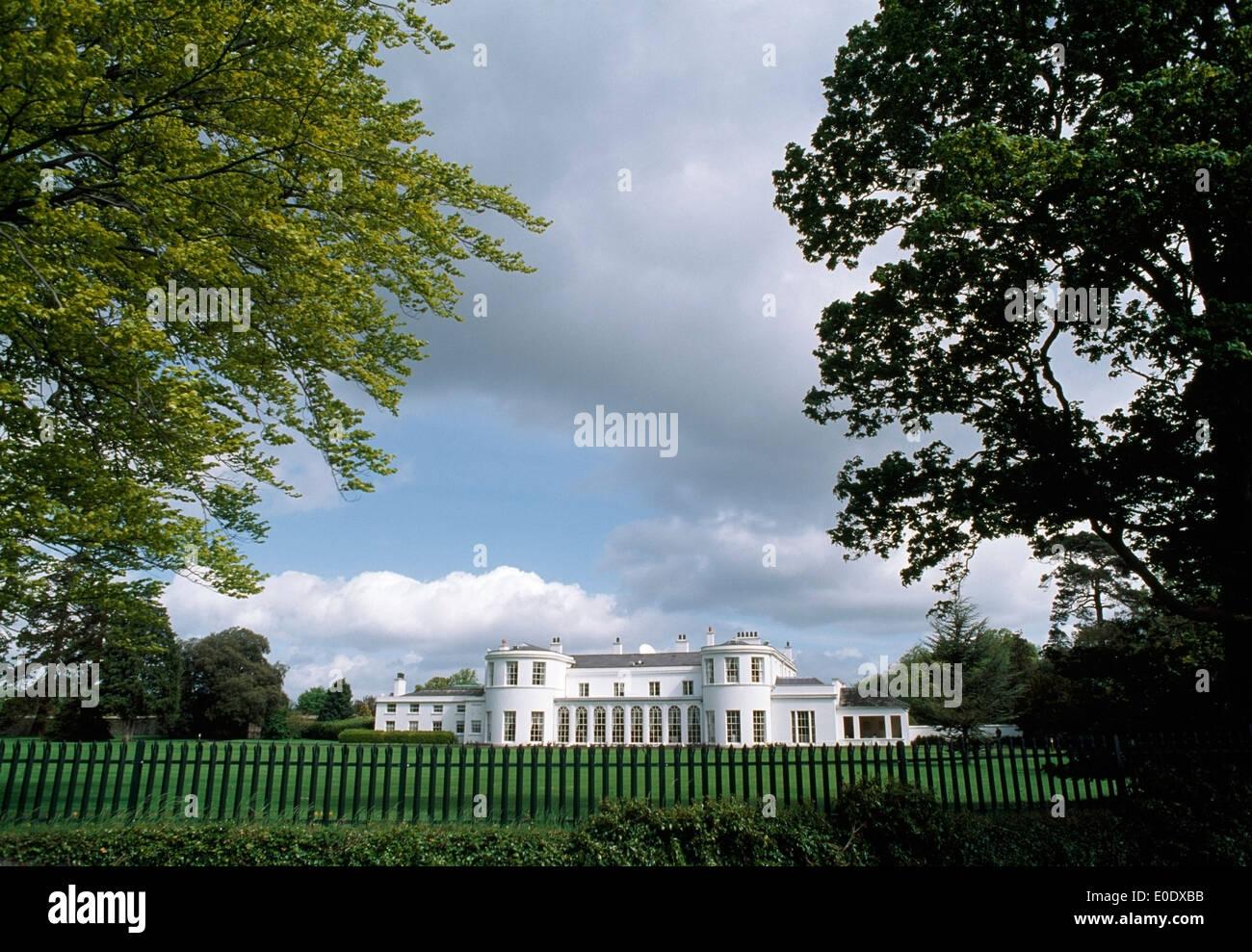 U.S. Ambassador's Residence In Phoenix Park, County Dublin, Ireland Stock Photo