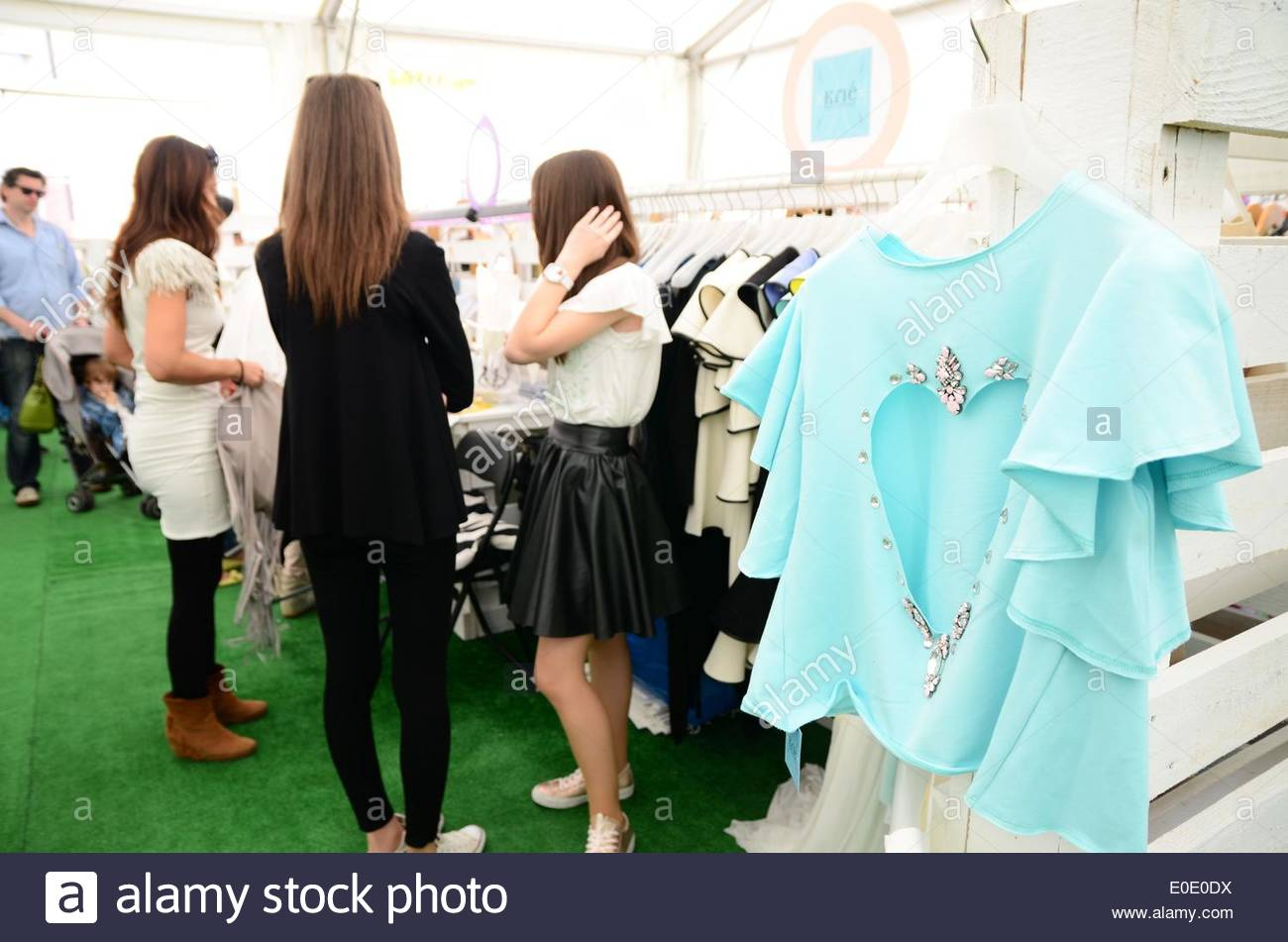 38ee0a6aa Jewelry And Leather Goods There Was Also A Fashion Show Stock Photos ...