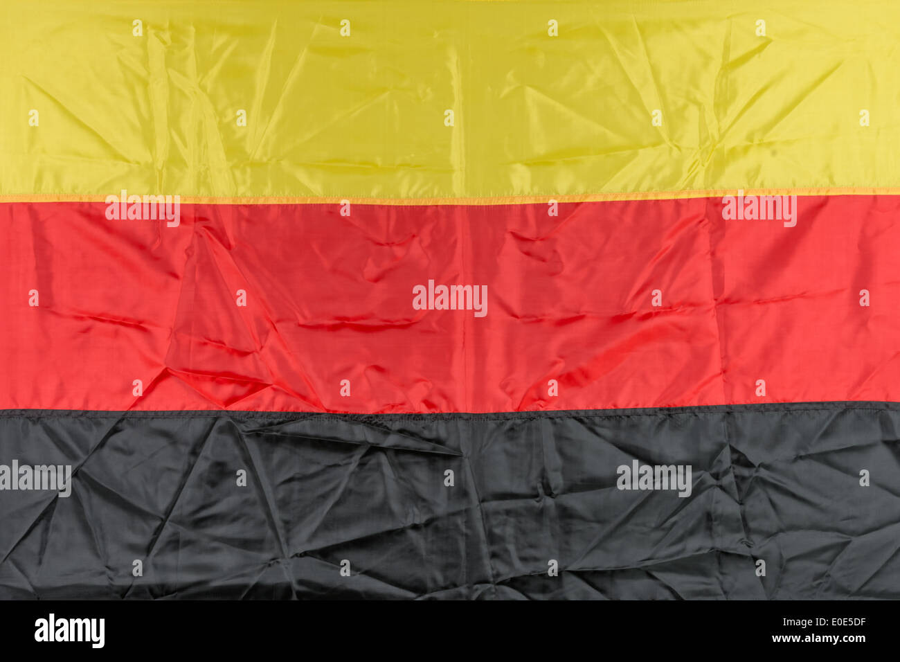 germany flag on fky background - Stock Image