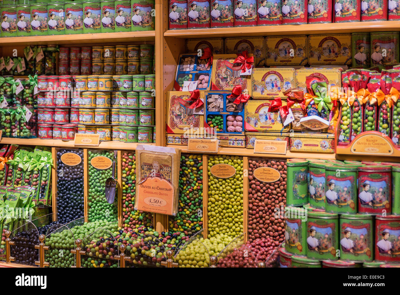 La Cure Gourmande, St Paul de Vence, Provence, France - Stock Image