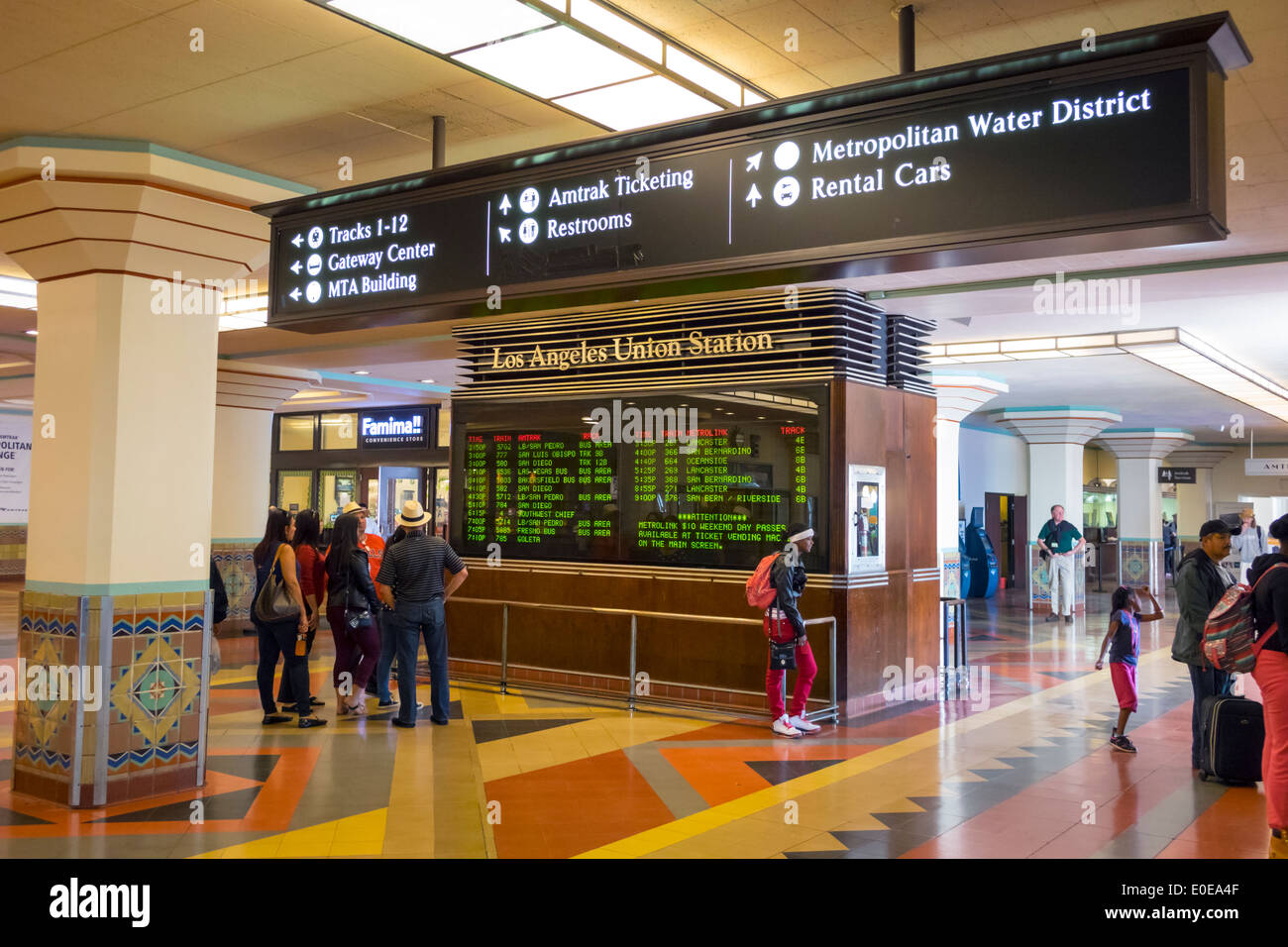 how to get to union station from lax