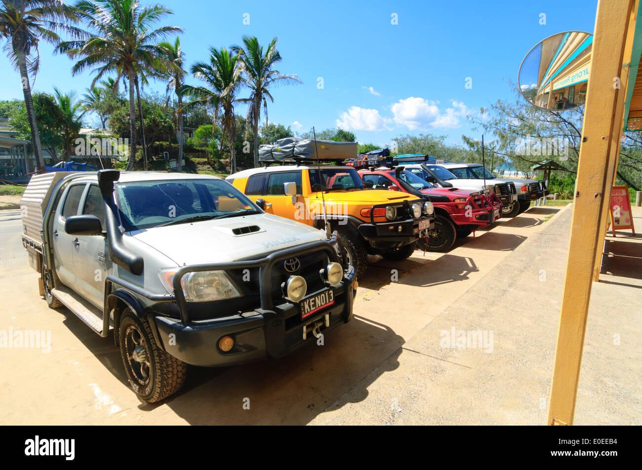 Eurong, Eastern Beach, Fraser Island, Queensland, QLD, Australia - Stock Image