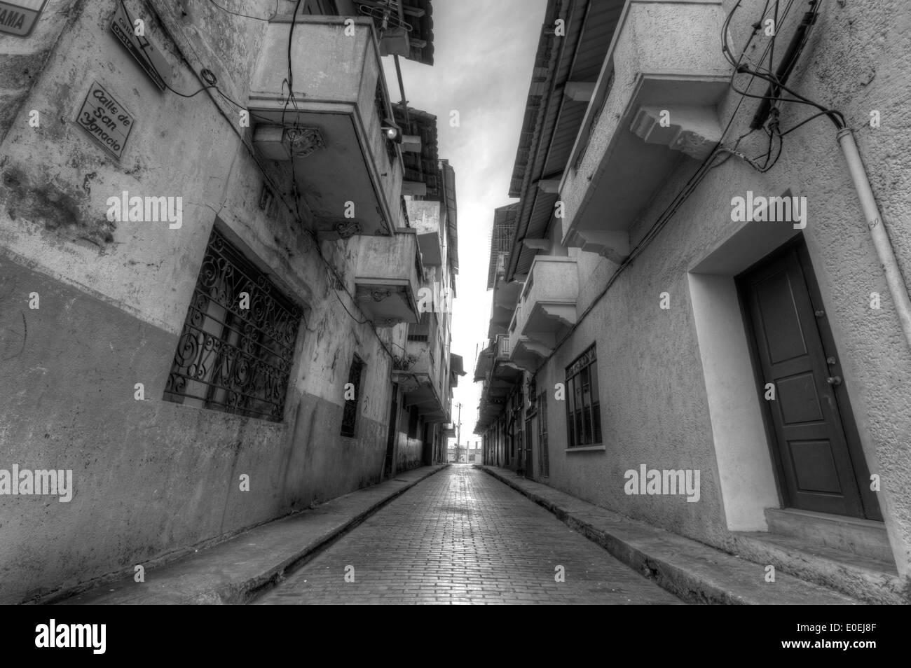 Casco Antiguo Alley - Stock Image