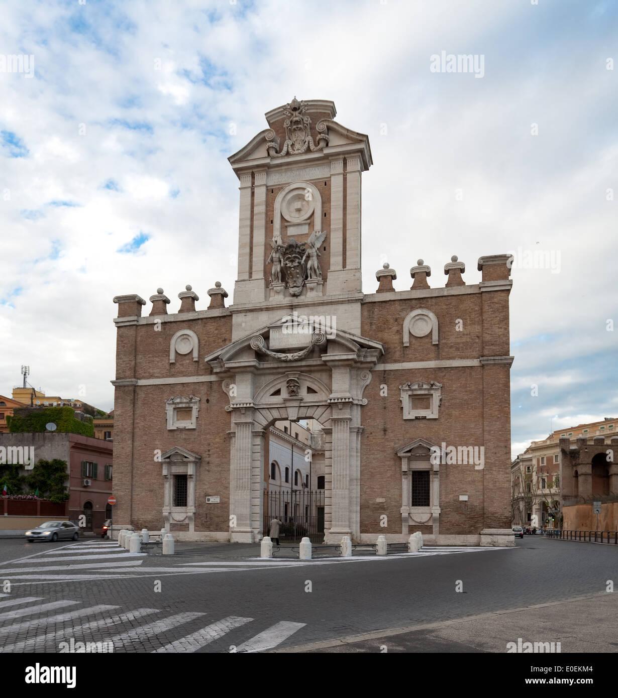 Porta Pia, Rom, Italien - Porta Pia, Rome, Italy - Stock Image